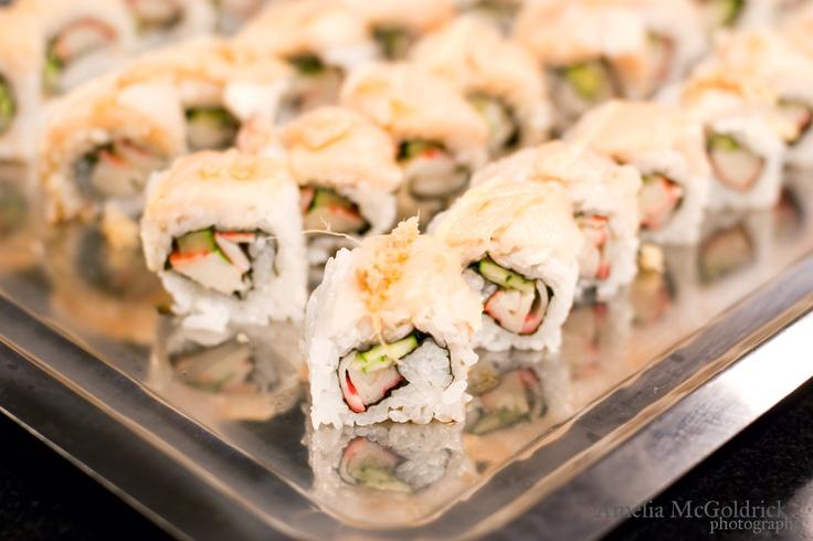Albacore maki sushi