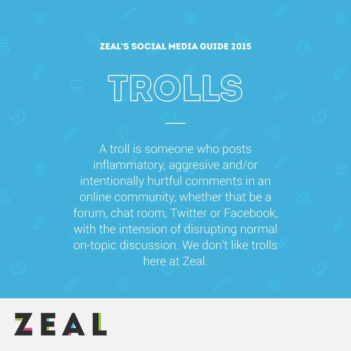 Social Media Glossary: Trolls #SocialMedia #Marketing