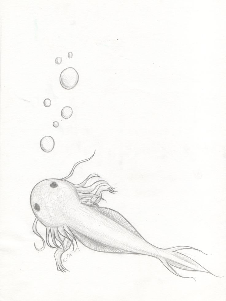 Axolotl by EldritchPrincess.deviantart.com on @DeviantArt