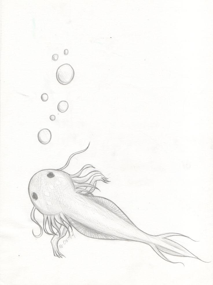 Axolotl by EldritchPrincess.deviantart.com on @DeviantArt