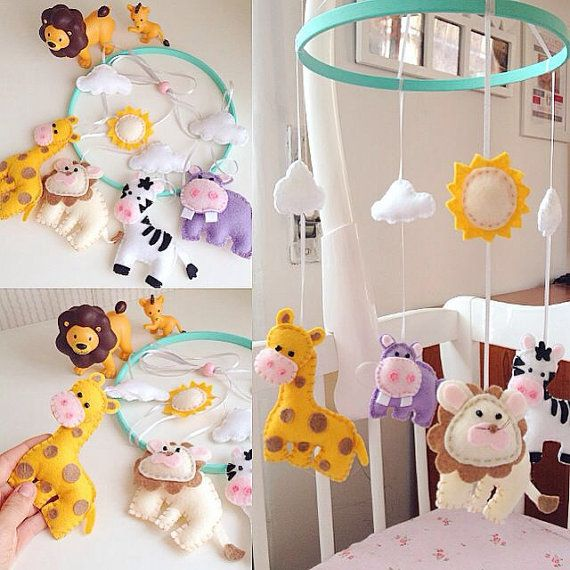 Baby mobile culla mobile decorativo Nursery Baby mobile