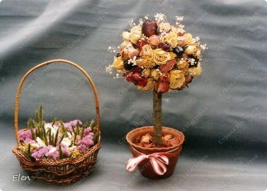 Поделки с сухоцветами своими руками