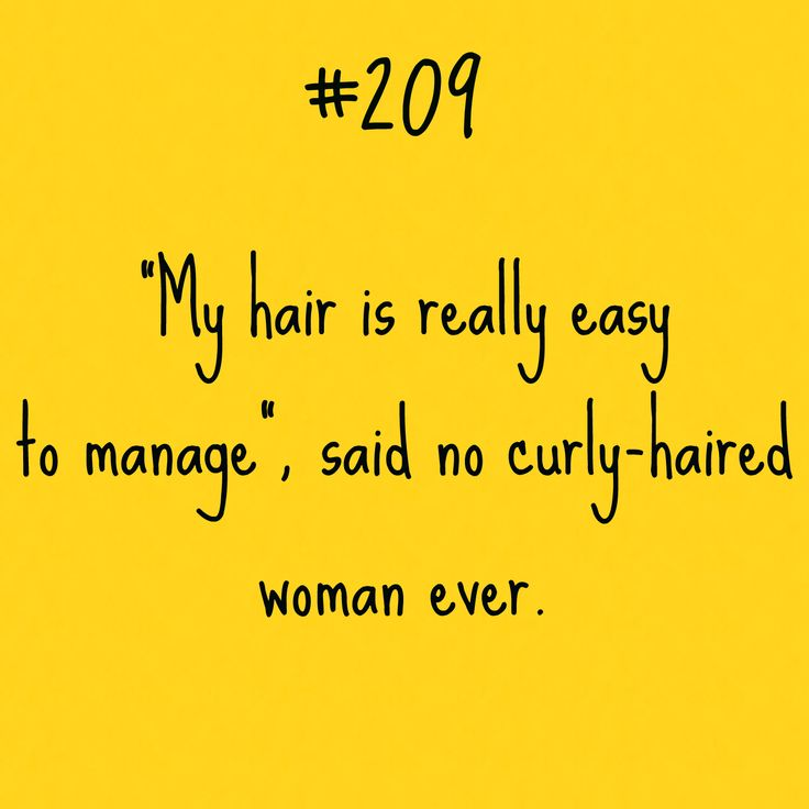Curly Hair Problem #209