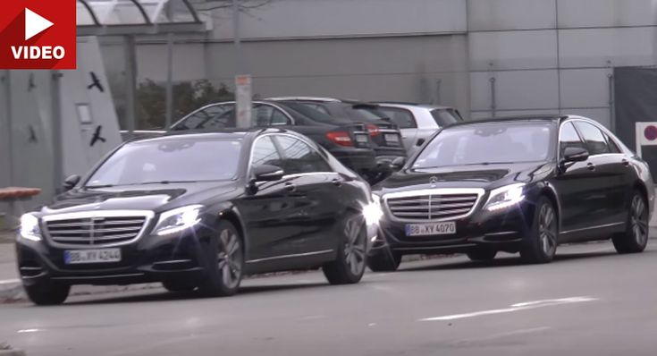 2017 Mercedes-Benz S-Class Hits The Streets Undisguised