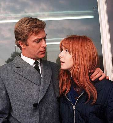Alfie, with Jane Asher