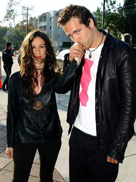Ryan Reynolds and Alanis Morissette were together for more than four years.