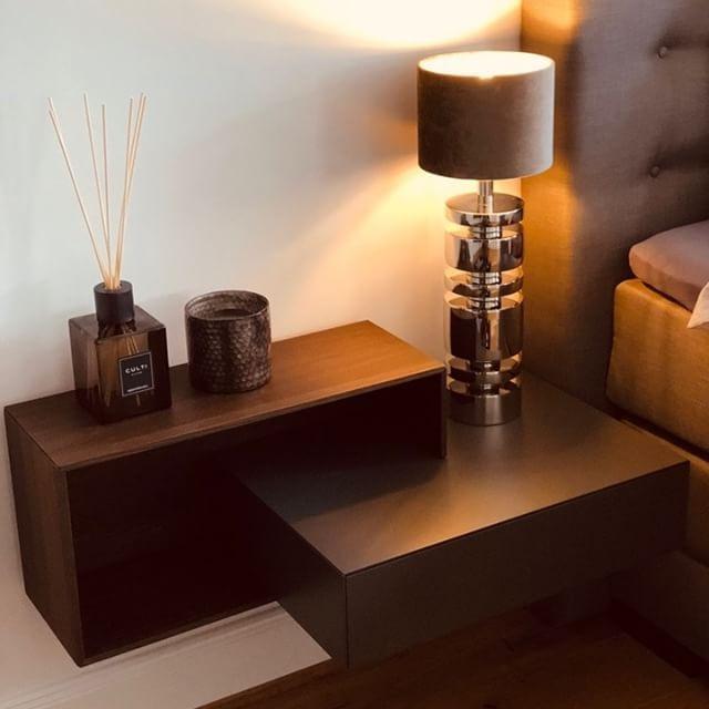 Livitalia Ecletto Nachttisch 1 Schubladen Nachttisch Nachttisch