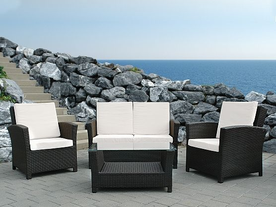 17 best Conversation Patio Sets images on Pinterest Patio sets - gartenmobel set alu weis