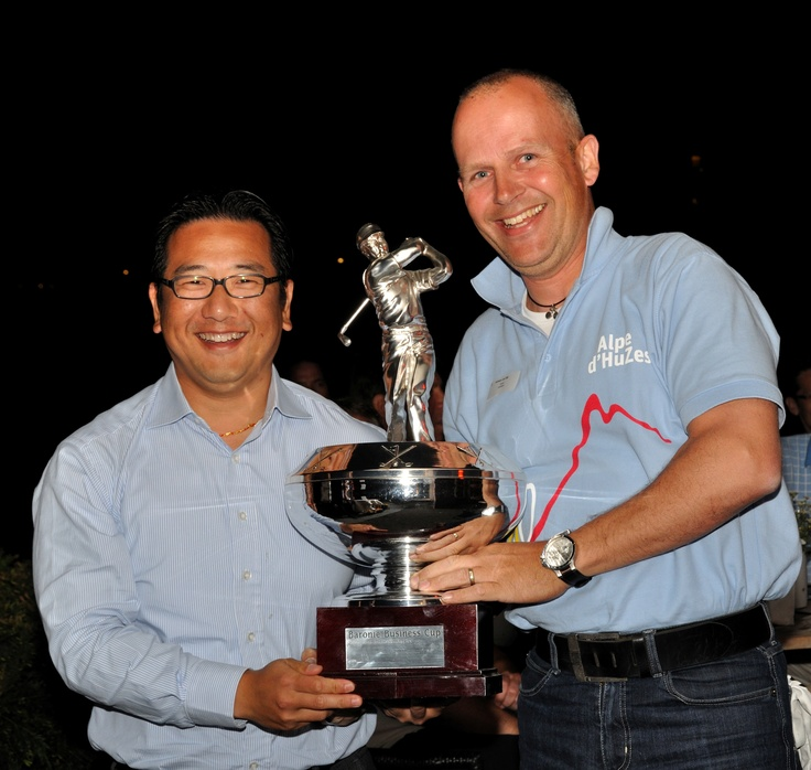 Winnaars van de Baronie Business Club 2011.