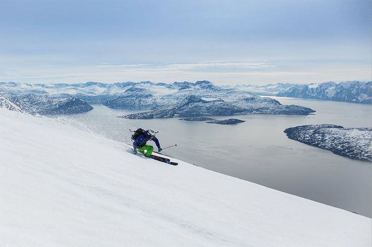 A Good Argument for Skiing North of the Arctic Circle