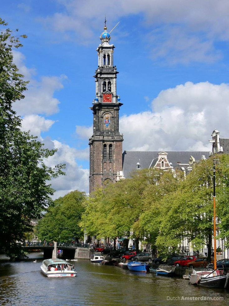 Anne Frank wrote in her diary that she could hear the bells of this tower: http://www.dutchamsterdam.nl/167-westerkerk-amsterdam