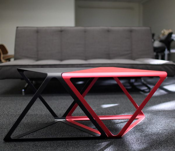 A Deserving Winner Of The 2011 Red Dot Design Concept Award, The X Plus  Table Was Conceived As A Functional Sculpture For Contemporary Living  Spaces.