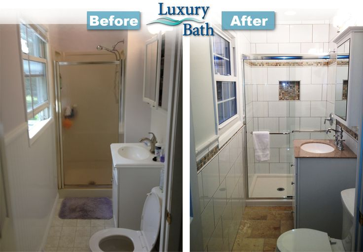 20 Best Images About Before And After Bathroom Remodel On