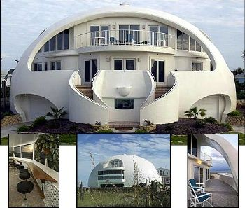 Concrete dome homes architecture pinterest for Concrete homes florida