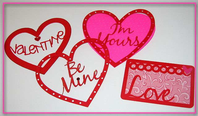 Tutorial: Valentines with Welded Words @ findingtimetocreate.blogspot.com