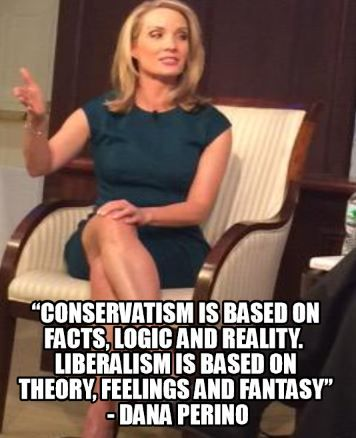 Conservatism is based on facts, logic and reality. Liberalism is based on theory, feeling and fantasy. AMEN!