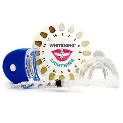 Whitening Lightning® Bright Express - Professional Teeth Whitening Kit  - $15.99. https://www.tanga.com/deals/28098b766b/whitening-lightning-bright-express-professional-teeth-whitening-kit