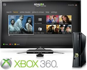 Amazon takes Instant Video service to the Xbox 360 including Kinect voice & gesture control