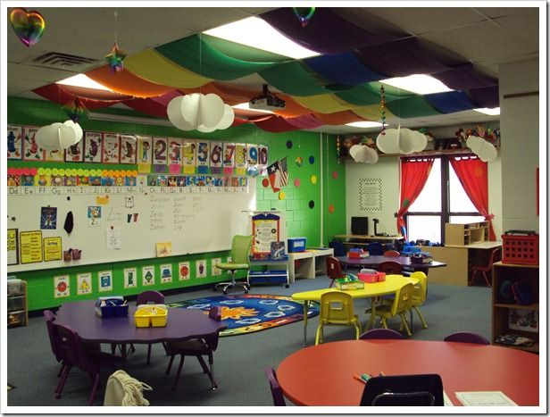 Kindergarten Classroom Hanging Decoration ~ The best classroom ceiling decorations ideas on