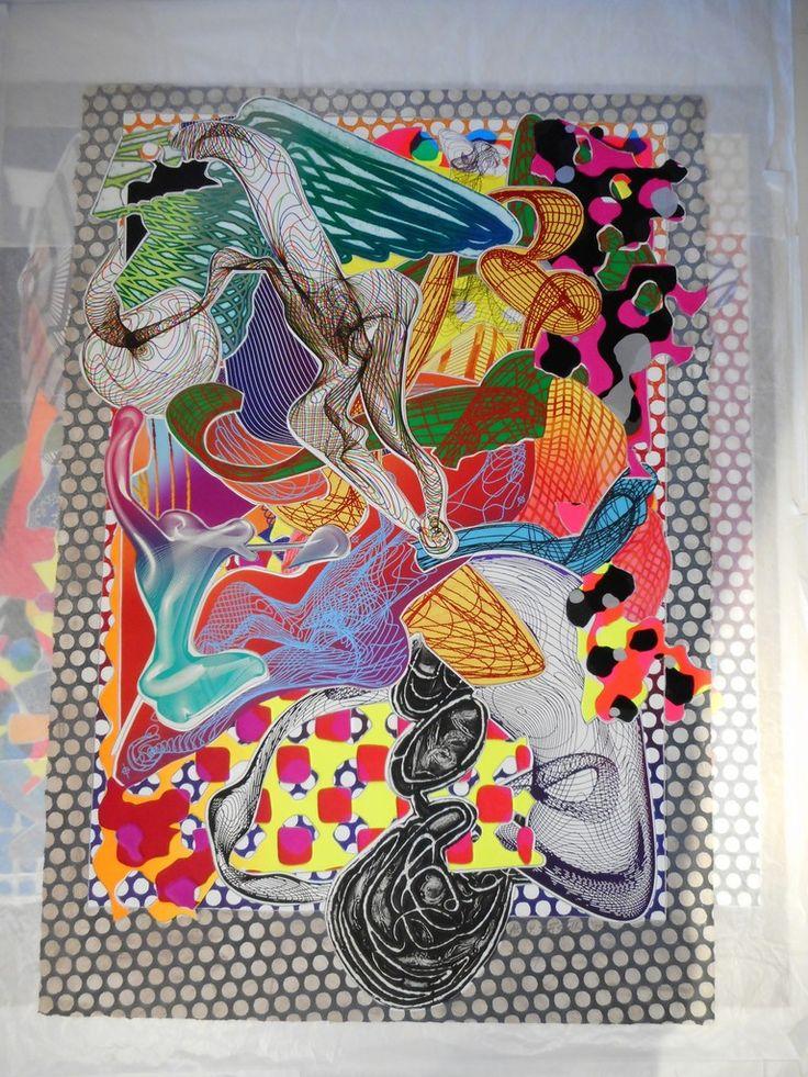17 best ideas about frank stella on pinterest stella art for Frank stella peinture