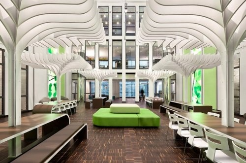 I want my MTV headquarters, Berlin.: Bathroom Design, Mtv Network, Offices Design, Offices Building, Offices Spaces, Interiors Design, Modern Offices, Interiors Offices, Offices Interiors