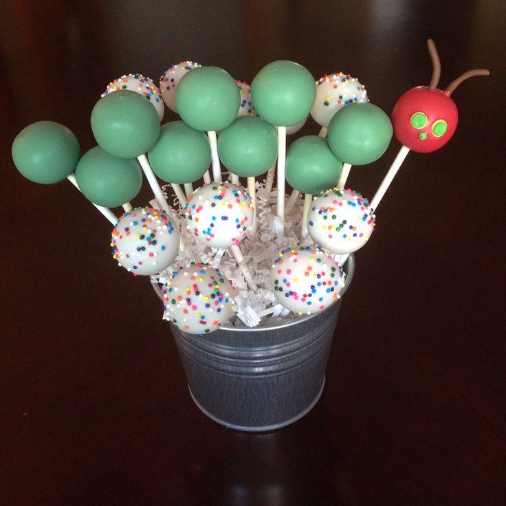 Caterpillar Cake Pops