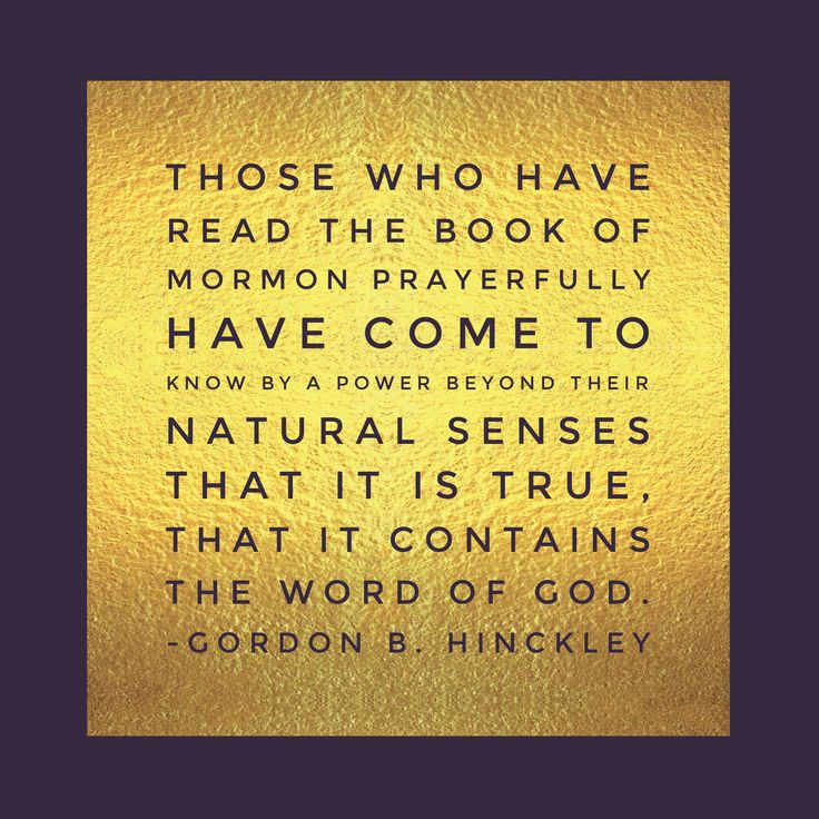 Inspirational Book Of Mormon Quotes: READ IT Images On Pinterest