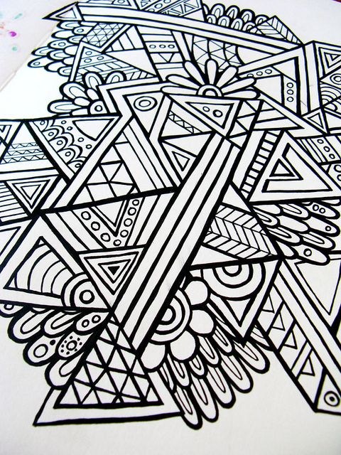 Aztec geometric | Flickr - Photo Sharing!