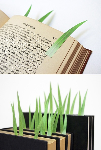 Grass Page Markers from whiterabbitexpres...