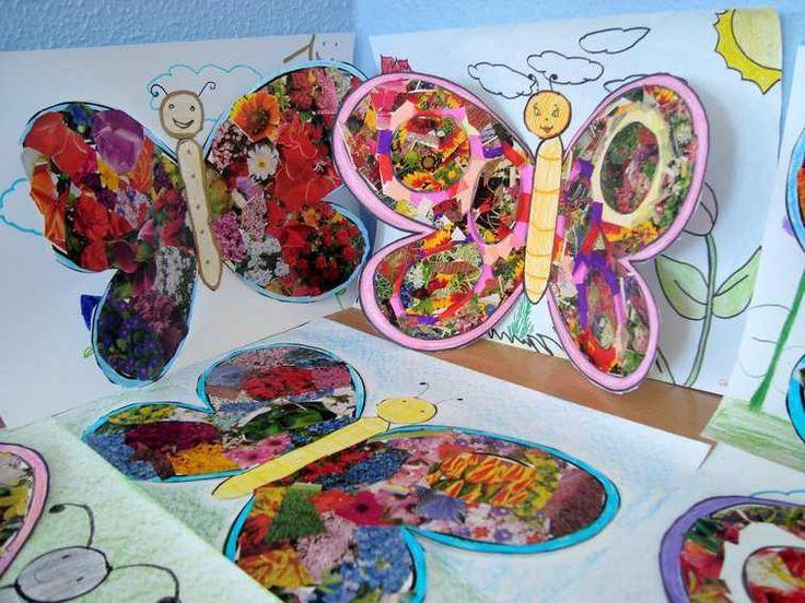 Les 8 meilleures images du tableau papillon maternelle sur - Papillon maternelle ...