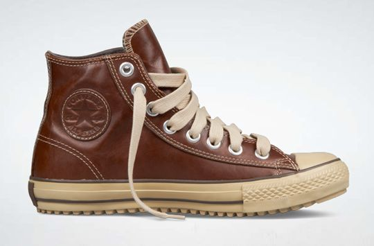 Converse Chuck Taylor All Star Hi Leather Boot.  http://www.converse.com/#/products/Shoes/ChuckTaylor/127813C