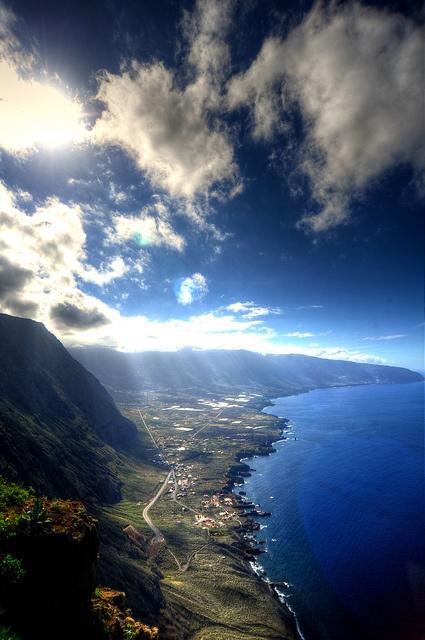 Valle de El Golfo, El Hierro. Canarias Spain