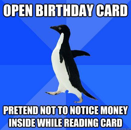 Birthday.: Birthday Cards, Penguin Birthday, Birthday Money, My Birthday