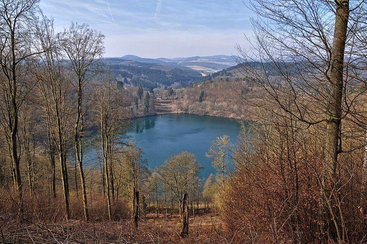 Oberer Lieserpfad von Daun nach Manderscheid | Das Pulvermaar und die Vulkaneifel