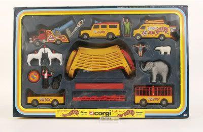 """Mettoy Corgi Toys No.GS48 """"Jean Richard Circus"""" Gift Set"""