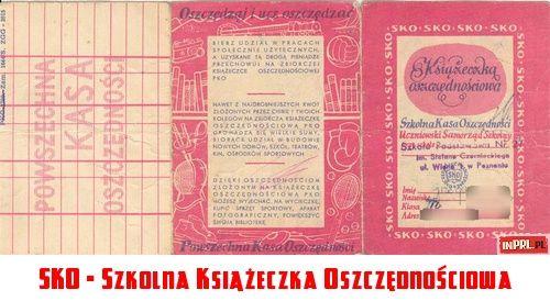 SKO - Szkolna Książeczka Oszczędnościowa