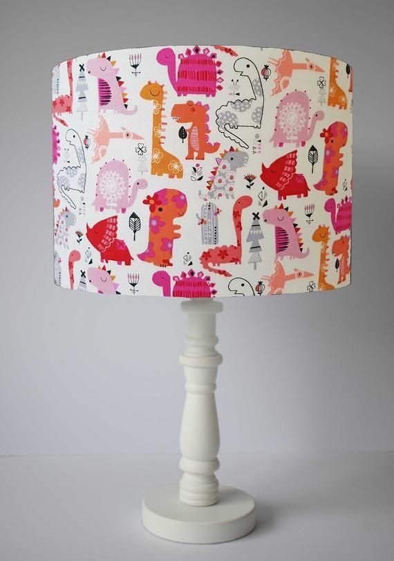 Dinosaur Lampshade For Nursery Bedroom