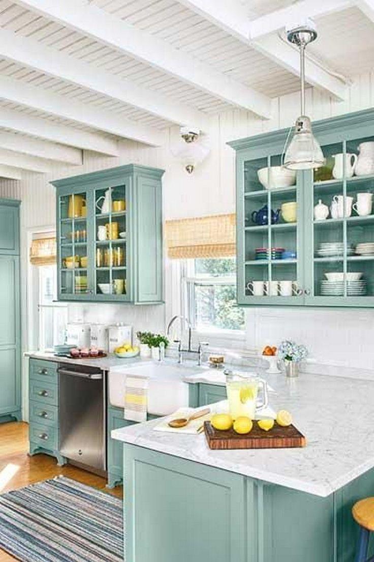 18+ Schöne Farbideen für die Küche, die Ihre Augen erfrischen