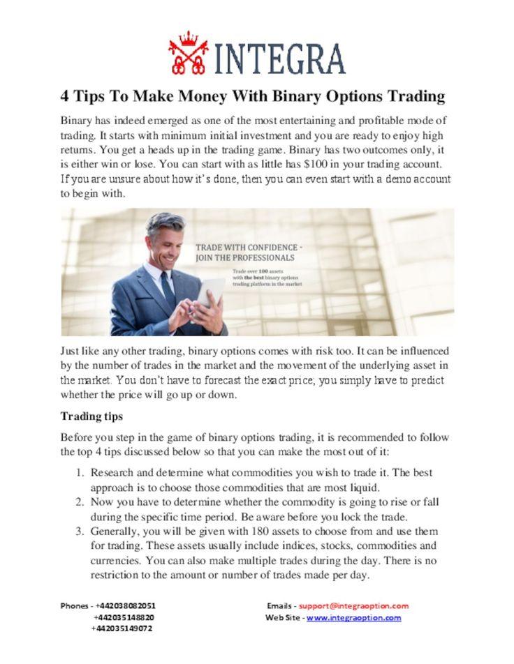 Faq binary options software free