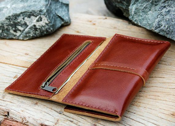 Multi function brance brown leather iphone by SakatanLeather, $59.00