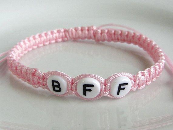15 best bracelets images on pinterest bangle bracelets macrame custom color bff friendship bracelet beaded best friends forever bracelet adjustable square knot macrame fandeluxe Images