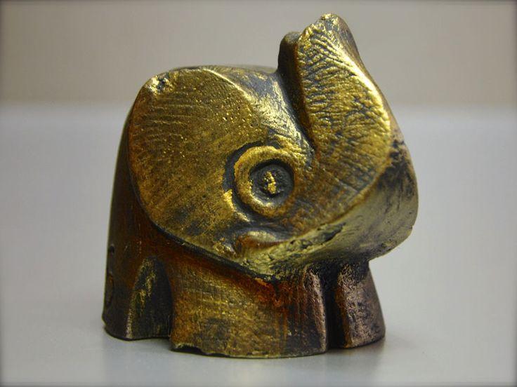 Statua gesso Elefante Elephant