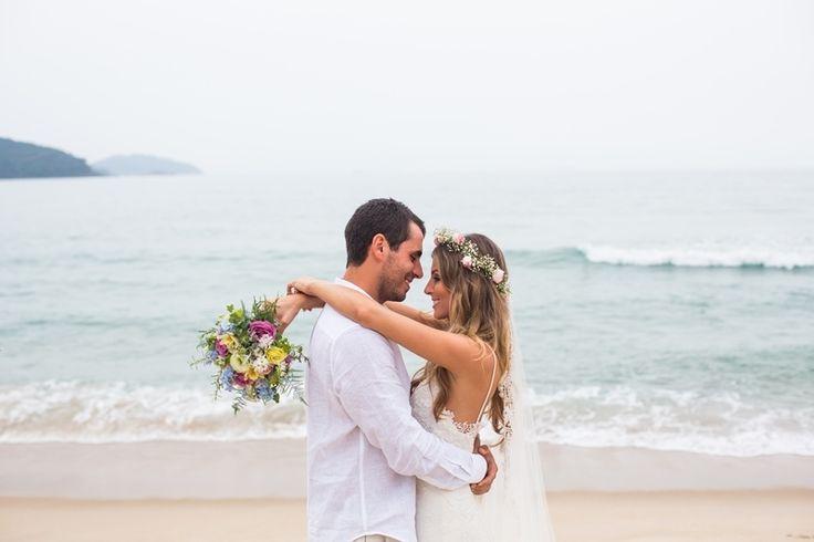 Noivos Marília&Márcio - Casamento na praia