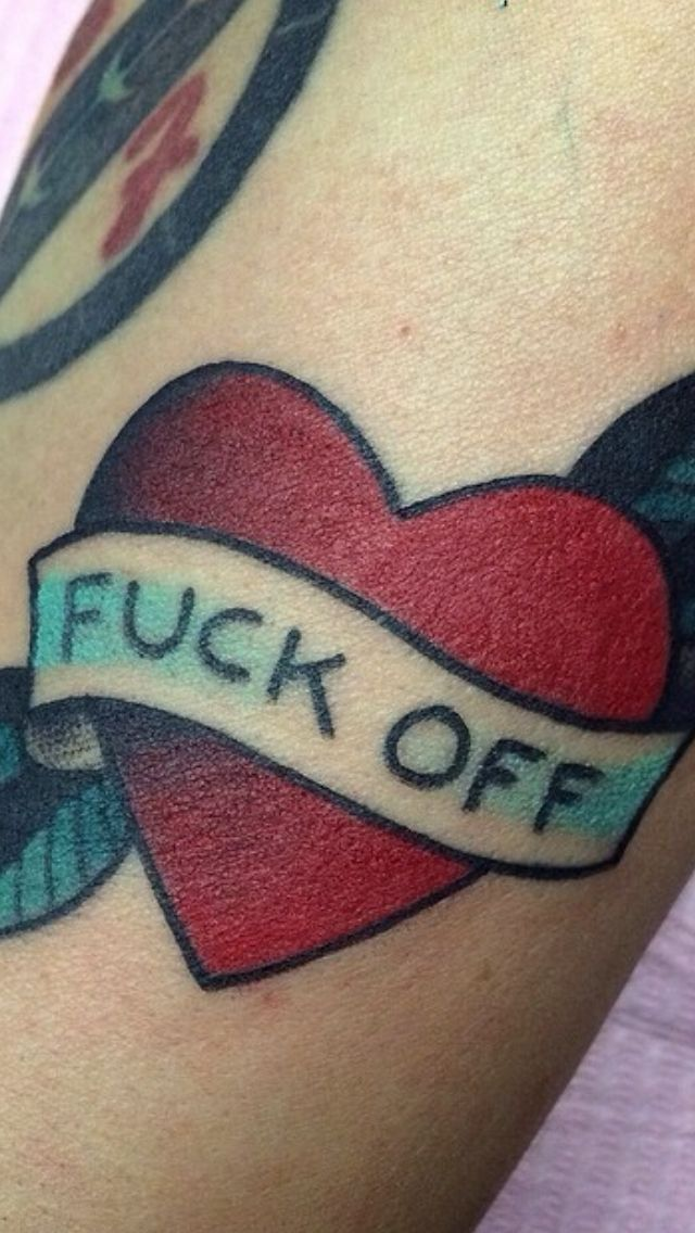 American Traditional Heart Tattoo Designs