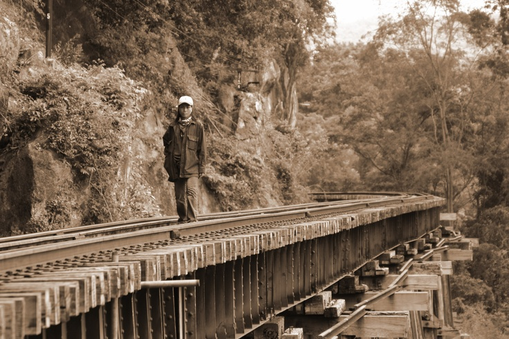 The Burma Railway, also known as the Death Railway, the Thailand–Burma Railway and similar names, was a 415 kilometers (258 mi) railway between Bangkok, Thailand, and Rangoon, Burma (now Yangon, Myanmar), built by the Empire of Japan during World War II, to support its forces in the Burma campaign.
