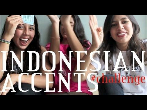 INDONESIAN LANGUAGE - INDONESIAN ACCENTS CHALLENGE! -  From YouTuber Nessie Judge  - This video contains examples of different languages spoken in Indonesia.