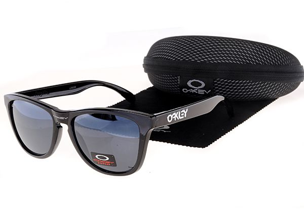 Oakley Frogskins Sunglasses Black Frame Purple Lens , for sale online  $16 - www.hats-malls.com