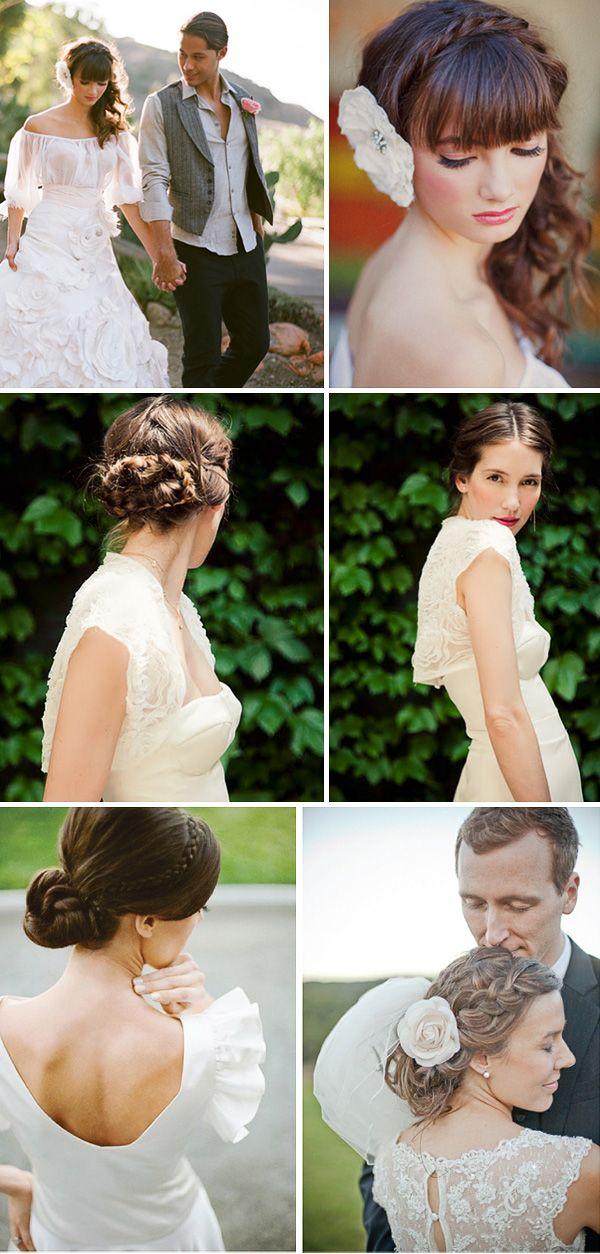 Свадебные прически с косами — новая подборка