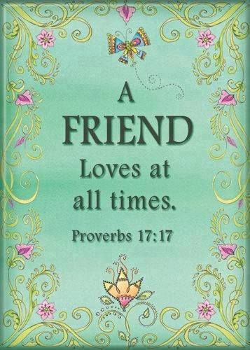 proverbs 17 17 niv a friend loves at all times and a brother is