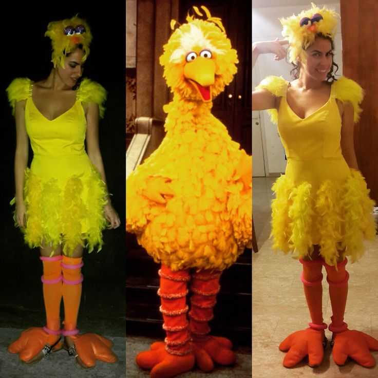 ber ideen zu big bird costume auf pinterest sesamstra e kost me sesamstra e und kost me. Black Bedroom Furniture Sets. Home Design Ideas